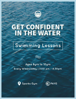 GET CONFIDENT IN THE WATER