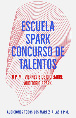 talent show school poster Octavilla