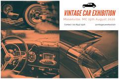 Vintage Car Exhibition Exhibition