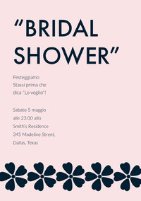 """BRIDAL <BR>SHOWER"" Boda"