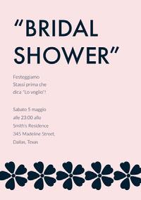 """""""BRIDAL <BR>SHOWER"""" Wedding"""