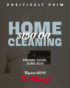 home cleaning instagram square  Cleaning Service