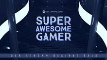 super awesome gamer twitch banner  Twitch-Banner
