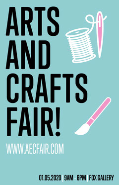 Arts and Crafts Fair Poster Fairs