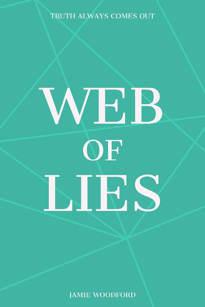 Blue and White, Web Of Lies,  Kindle Book Cover Idee per le copertine dei libri