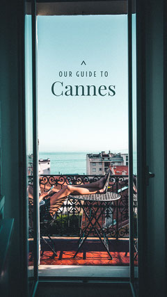 guide to Cannes France Instagram story City
