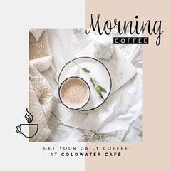 Morning Coffee Instagram Square Breakfast