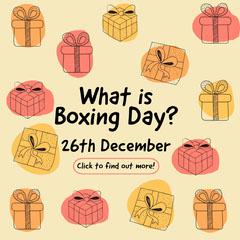 Boxing Day Instagram Square Boxing
