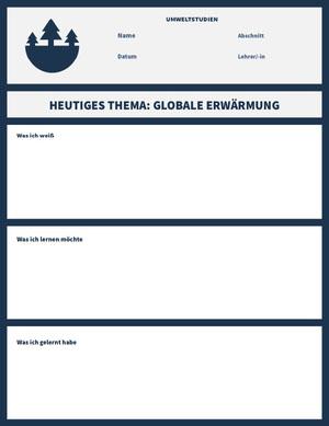 environmental studies worksheet  Arbeitsblatt