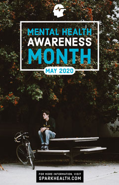 MENTAL HEALTH AWARENESS MONTH Health Posters