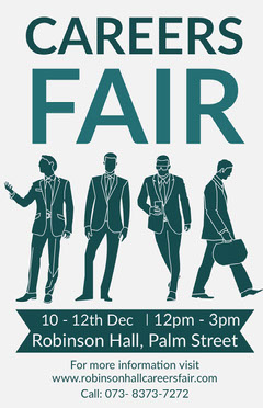 careers fair poster Career Poster