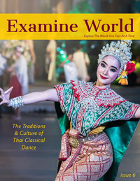 Examine World 雜誌封面
