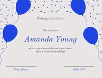 Amanda Young  Birthday