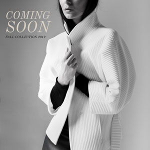 Black and White Fall Collection Advertisement Coming Soon Post