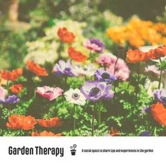 Garden Therapy Instagram Square Garden