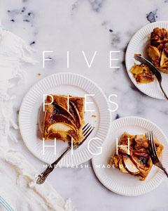 FIVE<BR>PIES<BR>HIGH Desert