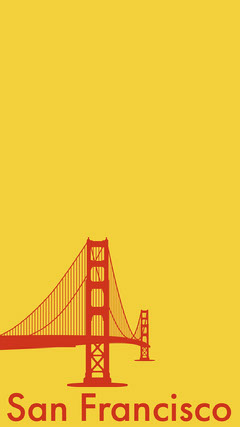 Yellow and Red San Francisco Snapchat Story California