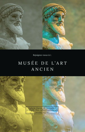 MUSÉE DE L'ART ANCIEN Prospectus commercial