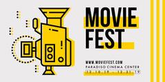 Movie Festival Eventbrite Event Banner