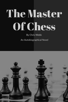Black and White The Master Of Chess Boo Cover Couverture de livre