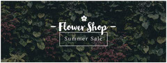 - Flower Shop - Sale Flyer