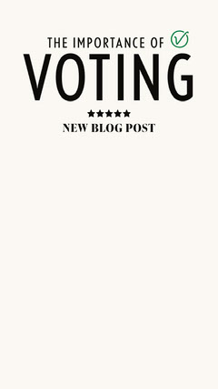 Voting importance IG Story Election