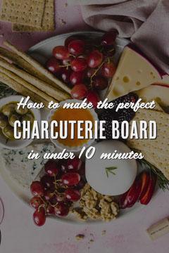 Charcuterie Board DIY Pinterest Cheese