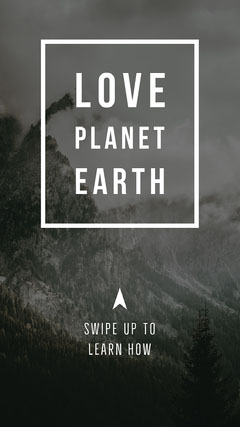 Love Planet Earth Instagram Story Earth