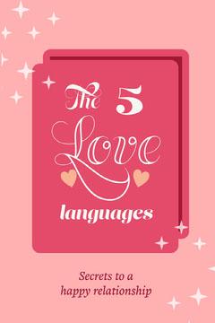 love languages Pinterest  Heart