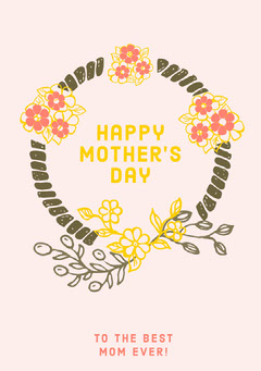Happy<BR>Mother's<BR>Day Holiday