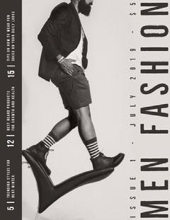 Gray Mens Fashion Magazine Cover Fashion Magazines Cover