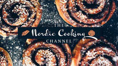 Nordic cooking youtube channel art Dessert