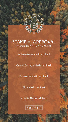 STAMP of APPROVAL Forest