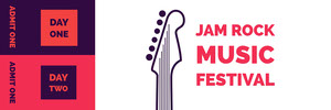 Jam Rock Music festival  Ticket