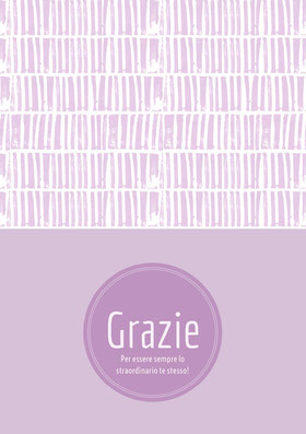 light purple textured thank you cards  Biglietto di ringraziamento