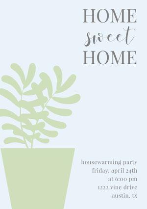 sweet  Housewarming Invitation