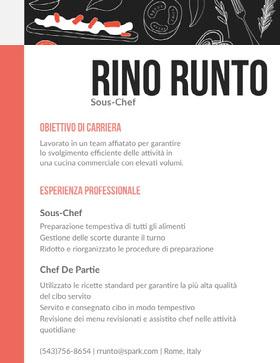Rino Runto Curriculum professionale