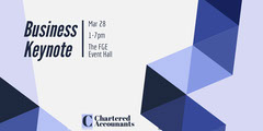 business keynote eventbrite banner Seminar Flyer