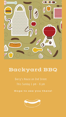 Backyard BBQ BBQ Menu