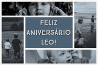 FELIZ ANIVERSÁRIO LEO! Photo Collage