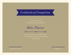 Internship Certificate Pattern Design