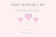 Balloon Heart Valentines Bingo Card Balloon