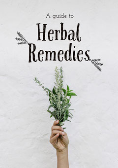 Herbal Remedies Book Cover Nature