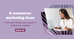 Purple digital marketing course Facebook  Educational Course