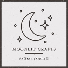 Black and White Artisan Craft Business Instagram Square Stars