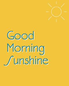 Yellow And Blue Text Sun Instagram Portrait Sun