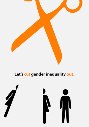 gender equality poster Campaign Poster