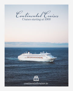 Continental Cruise Travel and Tourism Instagram Portrait Cruise