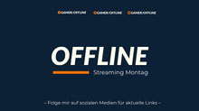 blue and orange twitch banner Twitch-Banner