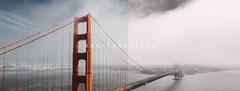 San Francisco Golden Gate Bridge Facebook Profile Cover California